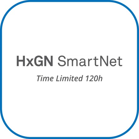 HxGN SmartNet Time Limited 120 horas